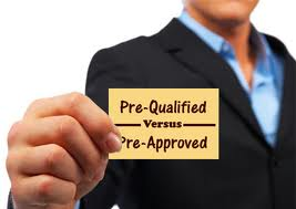 pre-qualified versus pre-approved