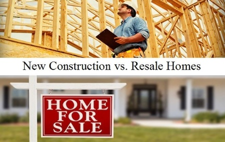 new construction home benefits vs. pre-owned homes